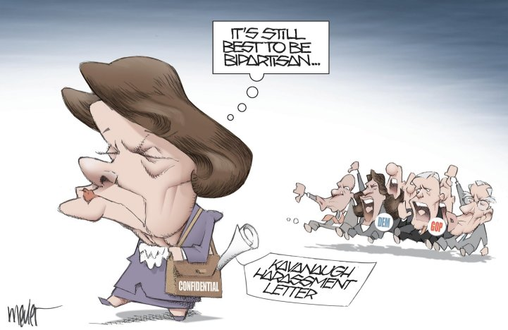Feinstein cartoon